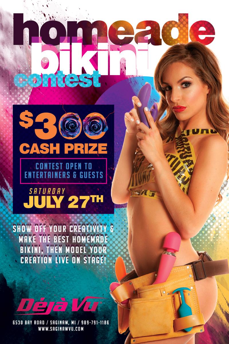 contest made Bikini home