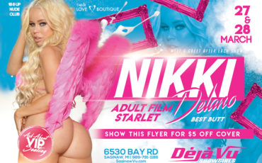 CANCELED! XXX Star Nikki Delano